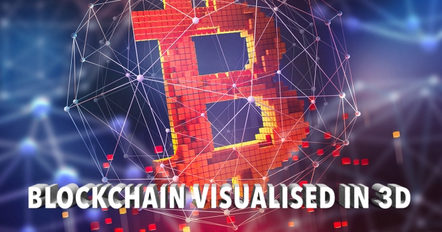 10X Showcase: Blockchain visualised in 3D