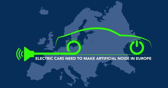 Electric cars need to make artificial noise in Europe