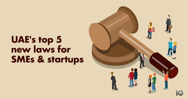 UAE's top 5 new laws for SMEs and startups