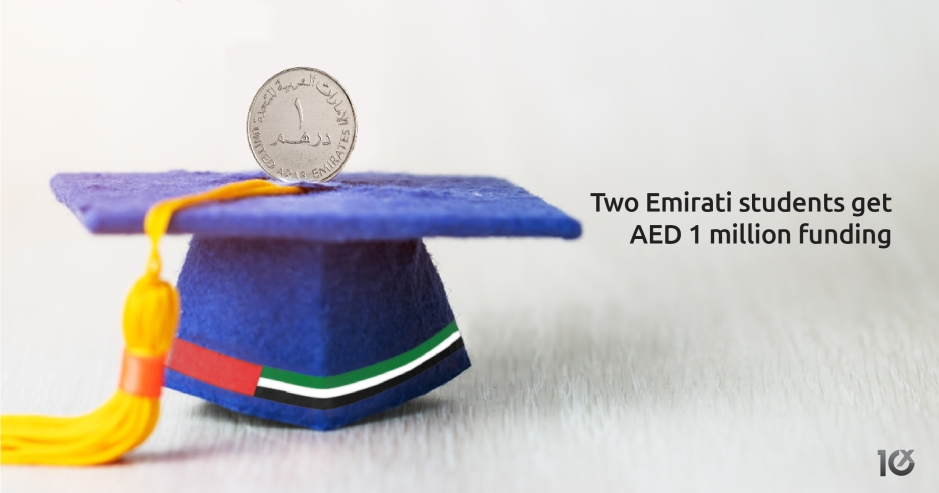 Two Emirati students get AED 1M funding to develop driver safety software