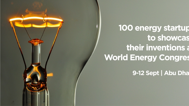 100 energy startups to showcase their inventions at 24th World Energy Congress in Abu Dhabi