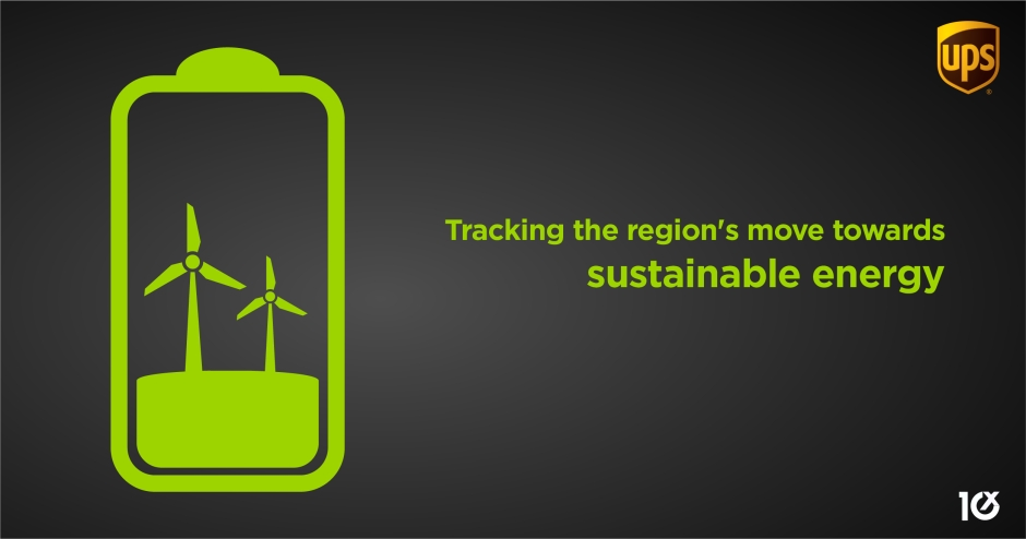 Tracking the region's move towards sustainable energy