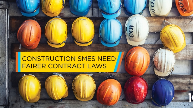 Construction SMEs need fairer contract laws