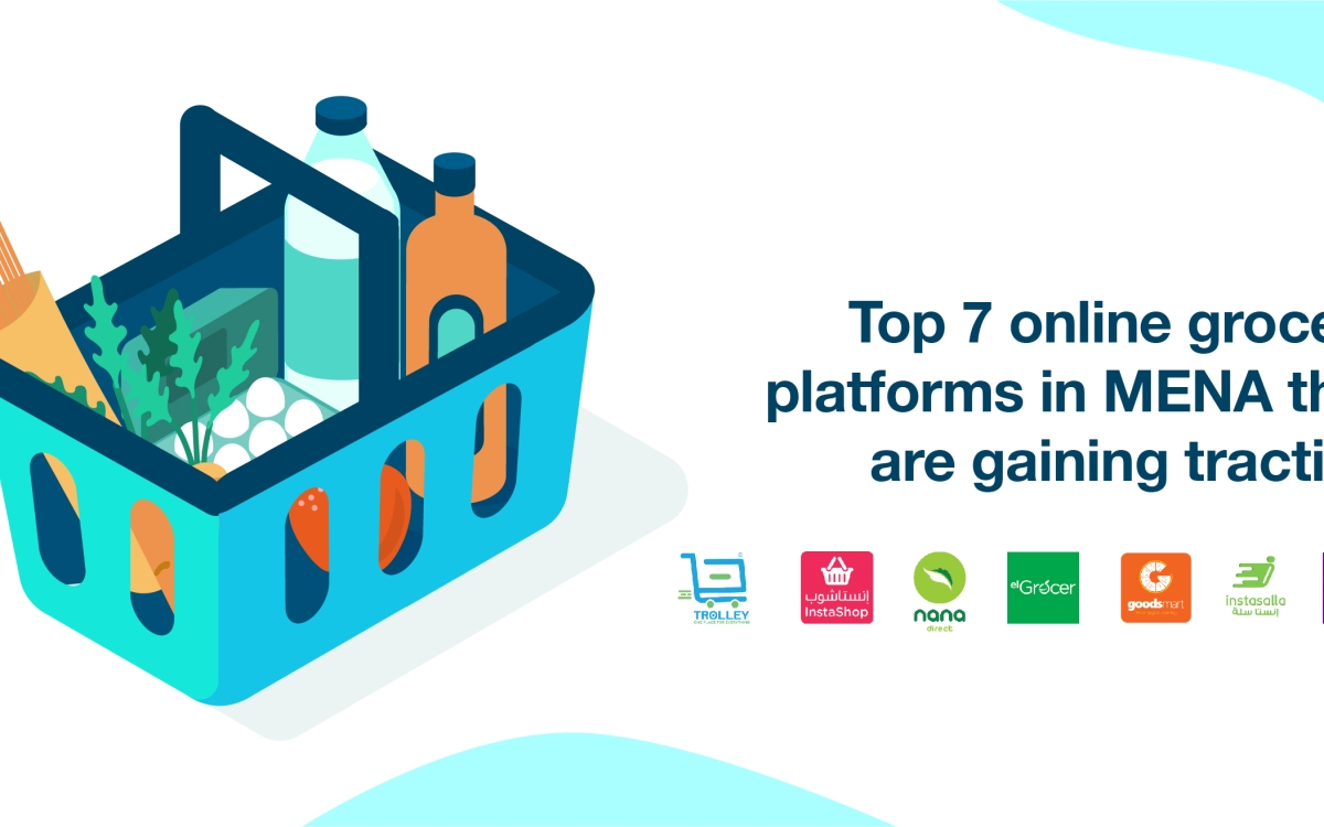 Amr Fawzi top 7 e-grocery startups in mena that are gaining traction