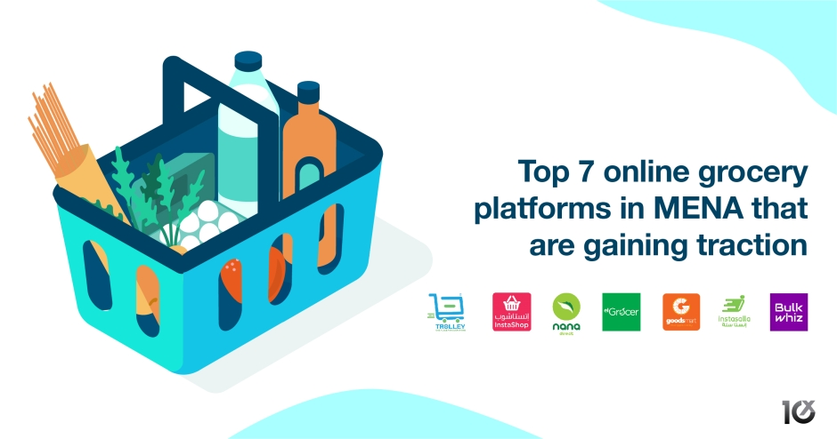 Top 7 e-grocery startups in MENA that are gaining traction