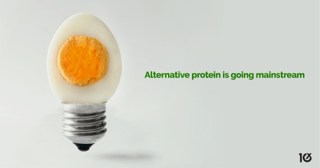Alternative protein is going mainstream