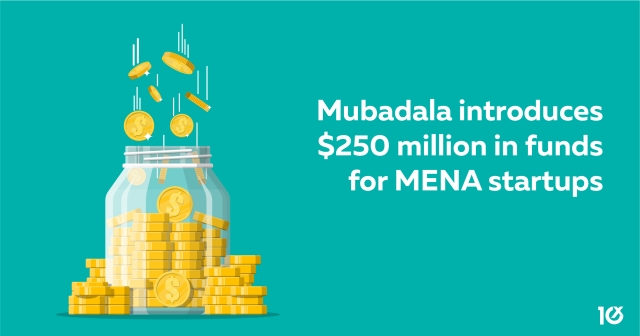 Mubadala introduces two funds worth $250 million for MENA startups