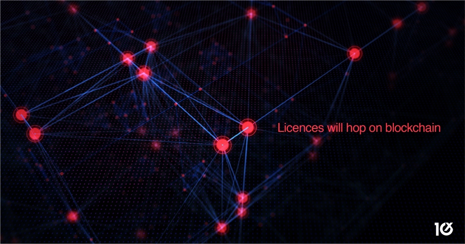 Licences will hop on blockchain