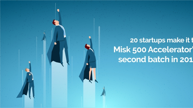 20 startups make it to Misk 500 Accelerator's second batch in 2019