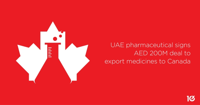 UAE pharmaceutical signs AED 200M deal to export medicines to Canada