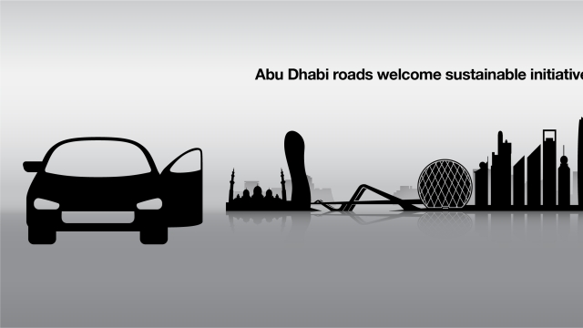 Abu Dhabi roads welcome 2 sustainable initiatives