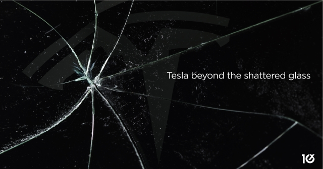 Tesla beyond the shattered glass