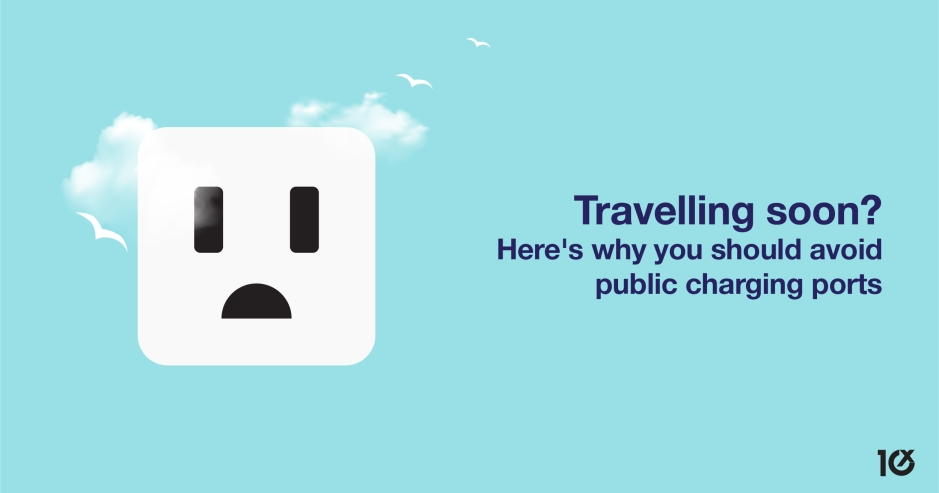 Travelling soon? Here's why you should avoid public charging ports
