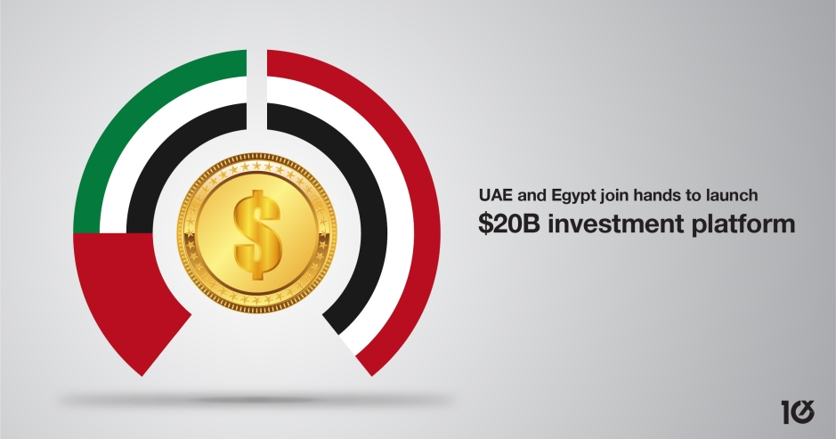 UAE and Egypt join hands to launch a $20B investment fund