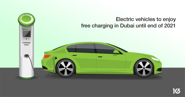 Electric vehicles to enjoy free charging in Dubai until end of 2021