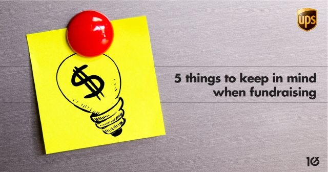 5 things to keep in mind when fundraising