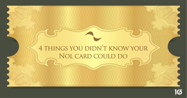 4 things you didn't know your Nol card could do