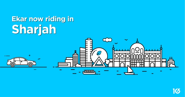 Ekar now riding in Sharjah