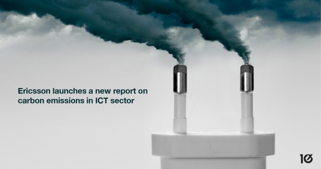 Ericsson releases a new guide on carbon emissions in ICT sector