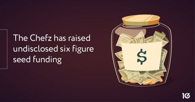 The Chefz has raised undisclosed six figure seed funding