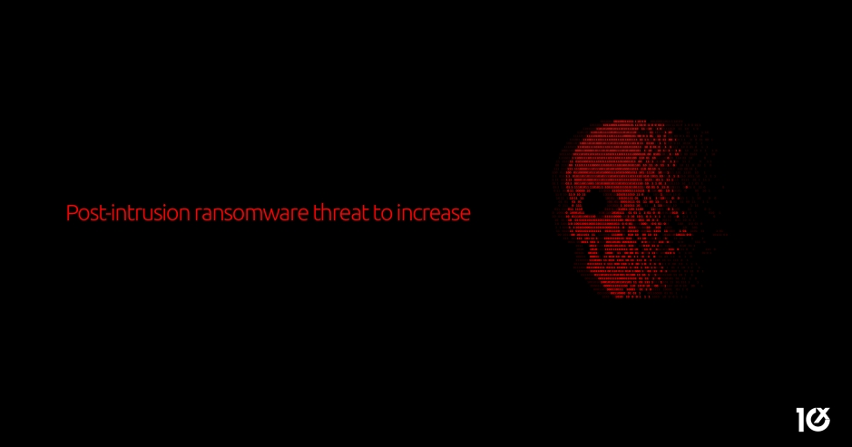 Post-intrusion ransomware threat to increase