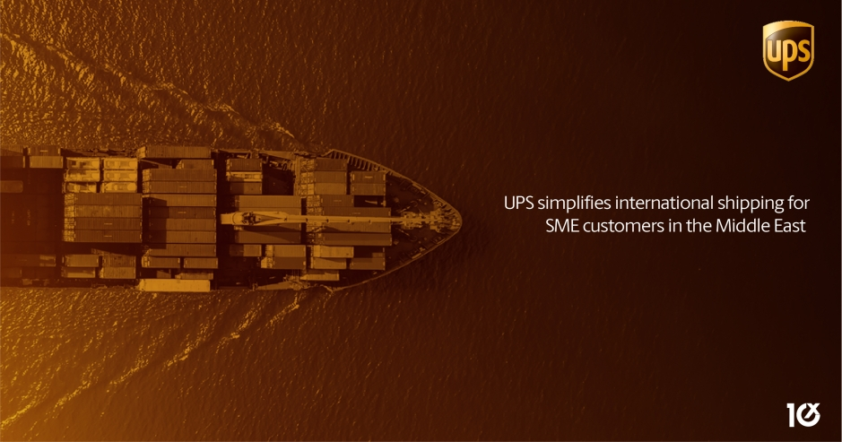 UPS simplifies international shipping for SME customers in the Middle East