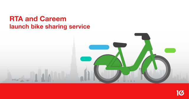 RTA and Careem launch bike sharing service