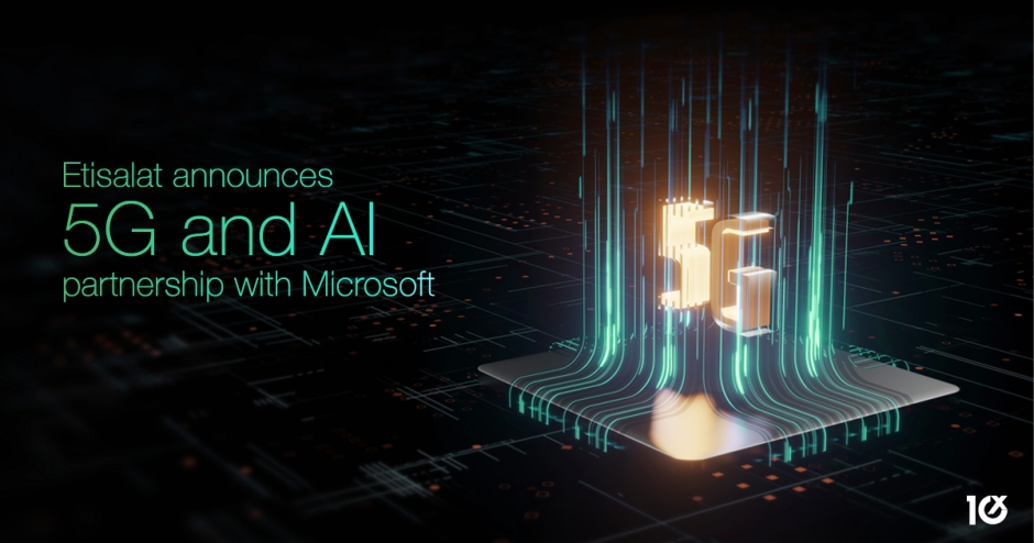 Etisalat announces 5G and AI partnership with Microsoft