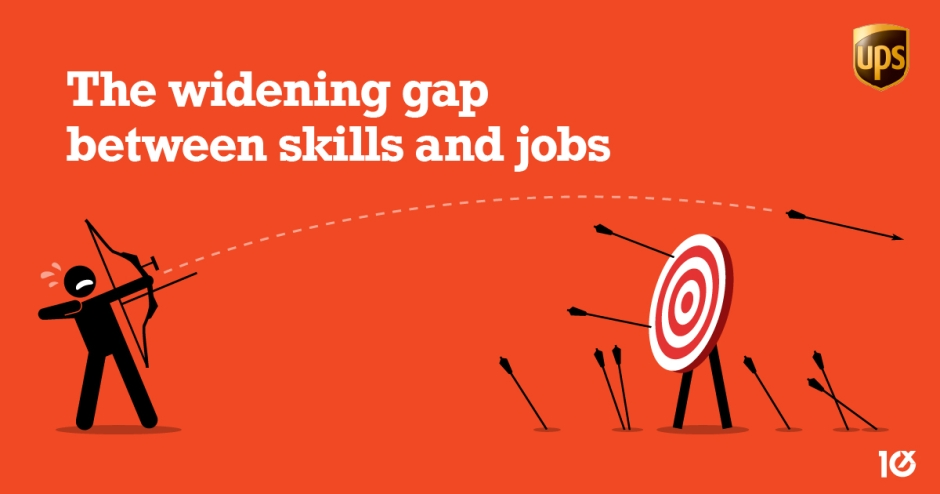 The widening gap between skills and jobs