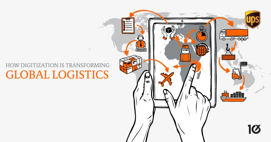 How digitization is transforming global logistics