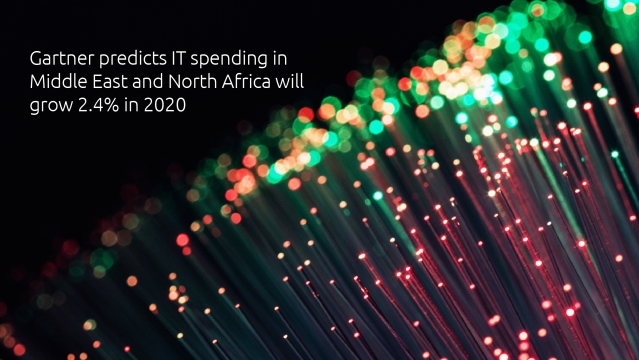 Gartner predicts IT spending in Middle East and North Africa will grow 2.4% in 2020