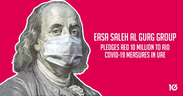 Easa Saleh Al Gurg Group pledges AED 10 million to aid Covid-19 measures in UAE
