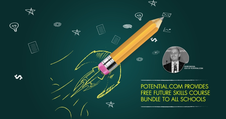 Potential.com provides free Future Skills Course Bundle to all schools