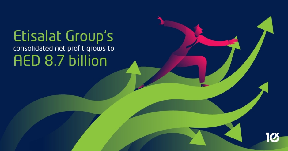 Etisalat Group's consolidated net profit grows to AED 8.7 billion