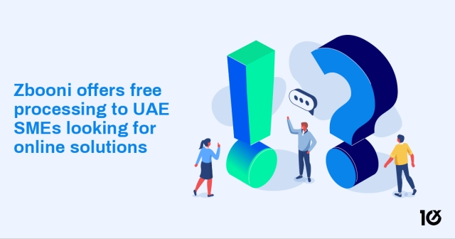 Zbooni offers free processing to UAE SMEs looking for online solutions