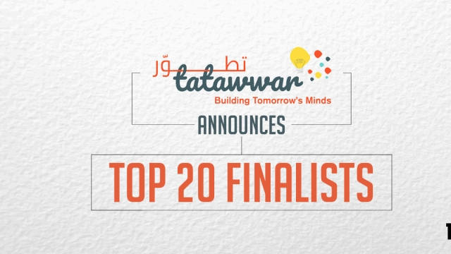 Tatawwar announces Top 20 finalists
