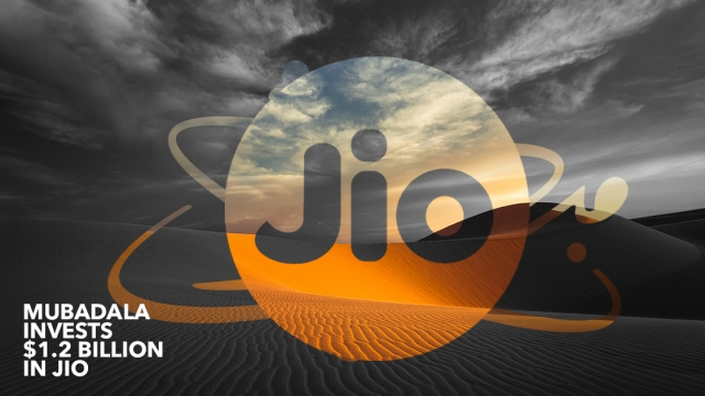 Mubadala invests $1.2 billion in Jio Platforms for a 1.85 equity stake