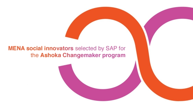 MENA social innovators selected by SAP for the Ashoka Changemaker program