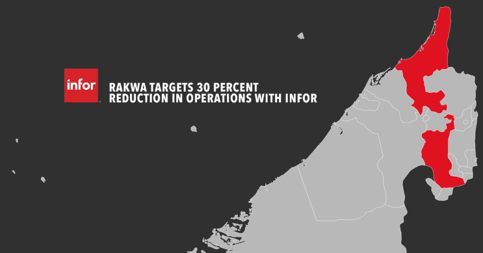 RAKWA targets 30 percent reduction in operations with Infor