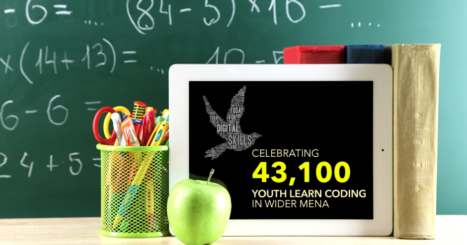 World Youth Skills Day celebrates 43,100 youth learn coding in wider MENA