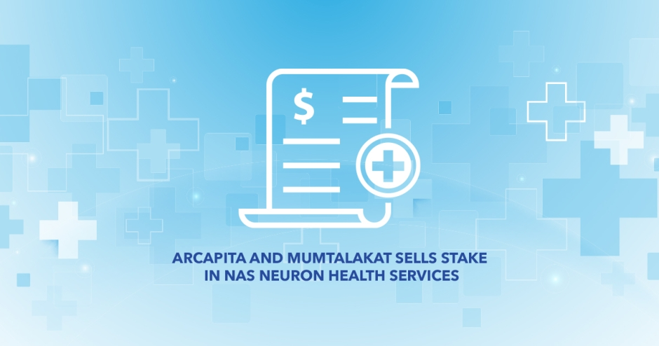 Arcapita and Mumtalakat sells stake in NAS Neuron Health Services
