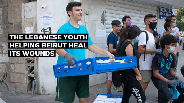 The Lebanese youth helping Beirut heal its wounds