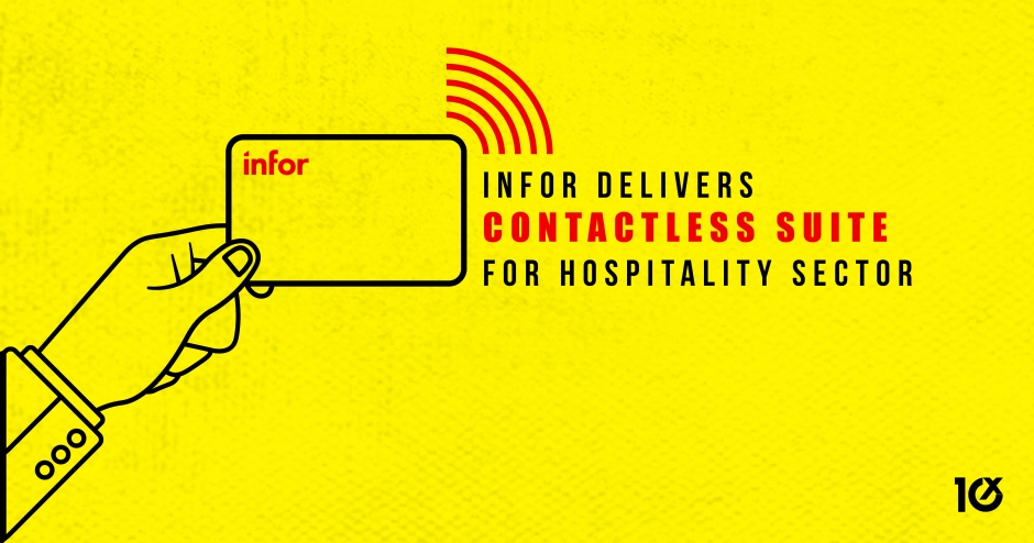 Infor delivers contactless suite for hospitality sector
