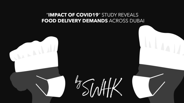 "Virtual Kitchen's ""Impact of Covid19"" study reveals food delivery demands across Dubai"