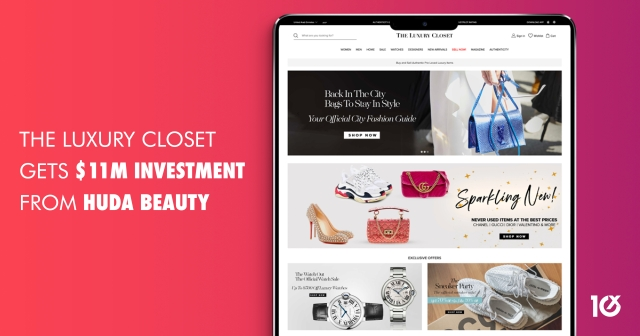 The Luxury Closet gets $11m investment from Huda Beauty