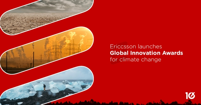 Ericcsson launches global Innovation Awards for climate change