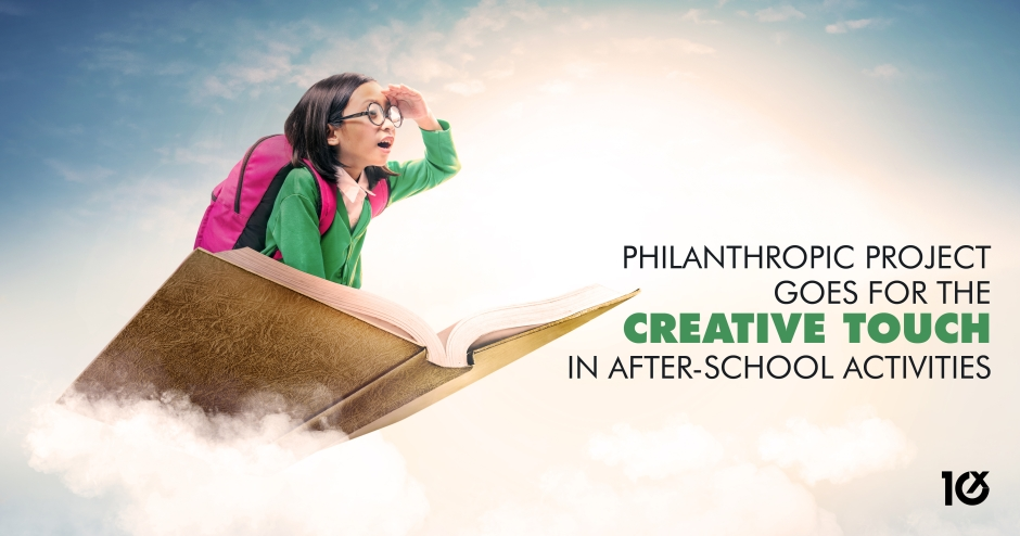 Philanthropic project goes for the creative touch in after-school activities