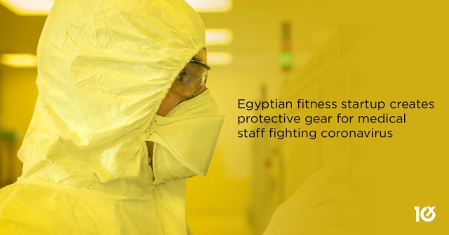 Egyptian fitness startup creates protective gear for medical staff fighting coronavirus
