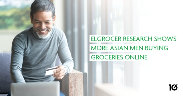 elGrocer research shows more Asian men buying groceries online