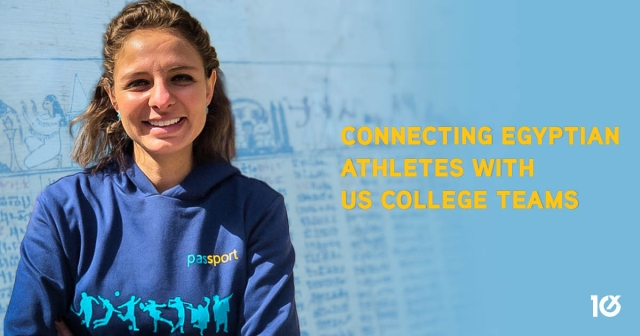 Connecting Egyptian athletes with US college teams